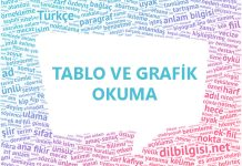 Tablo ve Grafik Okuma